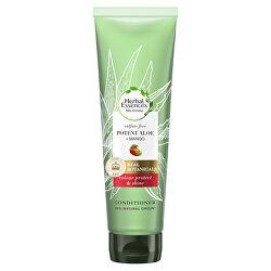 Kondicionér pro suché a barvené vlasy Potent Aloe + Mango (Color Protect & Shine Conditioner)