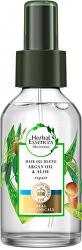 Olej na poškozené a suché vlasy Argan Oil & Aloe (Repair Hair Oil)