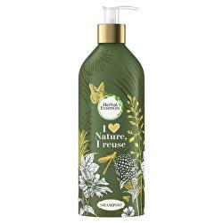 Šampon pro suché a poškozené vlasy v plnitelné láhvi Argan Oil (Shampoo)