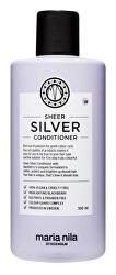Hydratační kondicionér neutralizující žluté tóny vlasů Sheer Silver (Conditioner)