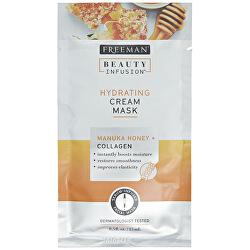 Hydratačná krémová maska Manukový med a kolagén Beauty Infusion (Hydrating Cream Mask)