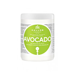 Intenzivní před šamponová maska pro hydrataci vlasů Avocado (Pre Shampoo Mask)
