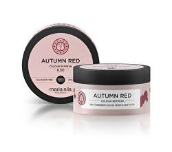 Jemná vyživující maska bez permanentních barevných pigmentů Autumn Red (Colour Refresh Mask)