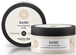 Jemná vyživující maska bez permanentních barevných pigmentů Sand (Colour Refresh Mask)