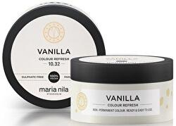 Jemná vyživující maska bez permanentních barevných pigmentů Vanilla (Colour Refresh Mask)