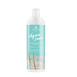 Jemný šampon pro objem vlasů s bambusem Vegan Soul (Shampoo)