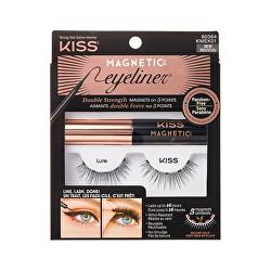 Magnetické umělé řasy s očními linkami (Magnetic Eyeliner & Lash Kit)