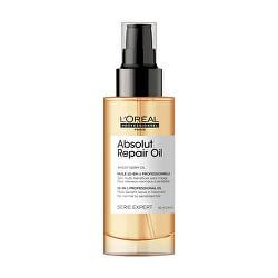 Multifunkční olejová bezoplachová péče s proteinem a zlatou quinoou pro suché a poškozené vlasy Serie Expert Absolut Repair