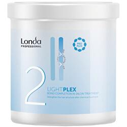 Ošetřující salonní péče pro zesvětlené vlasy Lightplex 2 (Bond Completion in Salon Treatment)