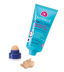 Make-up s korektorem na problematickou pleť Acnecover 30 ml + 3 g