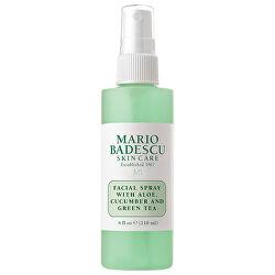 Această loțiune de Ten Facial Spray With Aloe, Cucumber and Green Tea