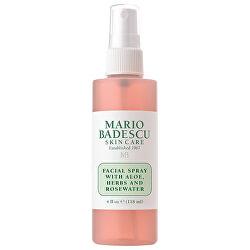 Pleť ová hmla Facial Spray With Aloe, Herbs and Rosewater
