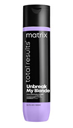 Posilující balzám pro zesvětlené vlasy Total Results Unbreak My Blonde (Strengthening Conditioner)