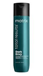 Šampon neutralizující červené odstíny na tmavých vlasech Total Results Dark Envy (Shampoo)