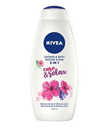 Sprchový gel a pěna do koupele Care & Relax (Shower & Bath)