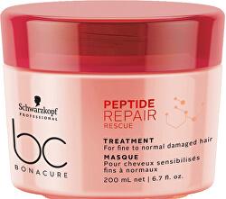 Obnovující maska pro poškozené vlasy BC Bonacure Repair Rescue Peptide (Treatment)