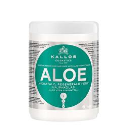 Obnovující maska s Aloe Vera (Aloe Vera Moisture Repair Shine Hair Mask)