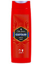 Sprchový gel 2 v 1 Captain (Shower Gel + Shampoo)