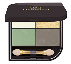 Paletă de nuante pentru ochi Quatro (Eyeshadow) 8 g