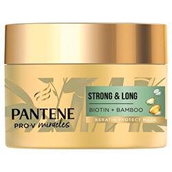 Maska proti vypadávání vlasů Miracles Biotin + Bamboo (Keratin Protect Mask)