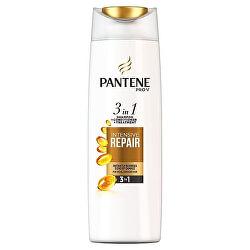 Šampon pro poškozené vlasy 3 v 1 (Intensive Repair Shampoo + Conditioner + Treatment)