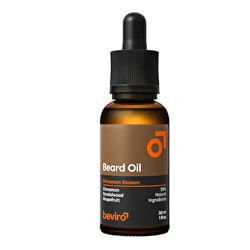Pečující olej na vousy s vůní grepu, skořice a santalového dřeva (Beard Oil)