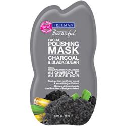 Peelingová maska s uhlím a cukrem (Facial Polishing Mask Charcoal & Black Sugar)
