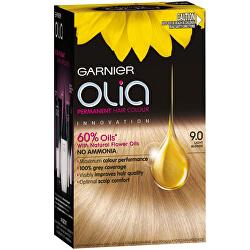 Permanentní olejová barva na vlasy bez amoniaku Olia - SLEVA - poškozená krabička