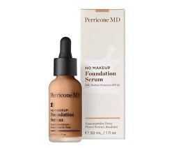 Tekuté make-up sérum SPF 20 No Makeup Foundation Serum 30 ml