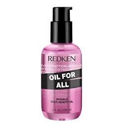 Multifunkční olej na vlasy Oil For All (Invisible Multi-benefit Oil)