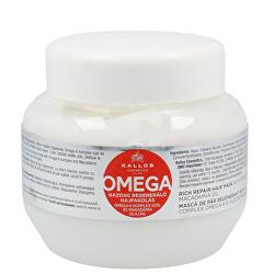 Regenerační maska na vlasy s omega-6 komplexem a makadamia olejem (Omega Hair Mask)
