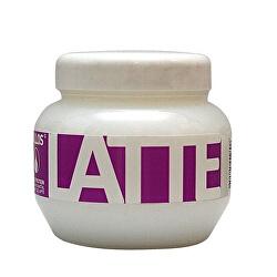 Regenerační maska s bílkovinami a aminokyselinami Latte (Latte Hair Mask)