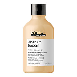 Regenerační šampon pro velmi poškozené vlasy Serie Expert Absolut Repair Gold Quinoa + Protein (Instant Resurfacing Shampoo)