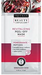 Revitalizačný zlupovacia maska Granátové jablko a peptidy Beauty Infusion (Revitalizing Peel-Off Mask)