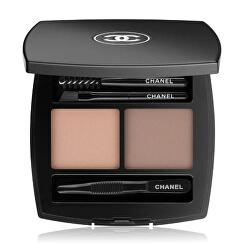 Sada pro dokonalé obočí La Palette Sourcils De Chanel (Brow Powder Duo) 4 g
