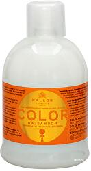 Šampon na barvené vlasy se lněným olejem a UV filtry (Color Shampoo with Linseed Oil and UV filter)