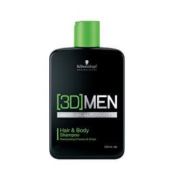 Šampon na vlasy i tělo pro muže 3D (Hair & Body Shampoo)