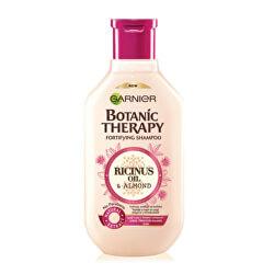 Șampon cu ricin si ulei de migdale pentru păr cu vârfuri despicate Botanic Therapy (Fortifying Shampoo)
