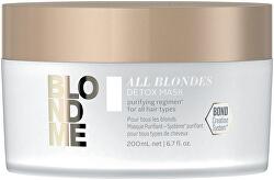Detoxikační a čisticí maska pro blond vlasy All Blondes (Detox Mask)