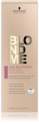 Lehký bezoplachový kondicionér ve spreji pro jemné a normální blond vlasy BLONDME All Blondes (Light Spray Conditioner)