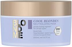 Vyživující maska neutralizující žluté tóny Cool Blondes (Neutralizing Mask)