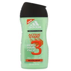 Sprchový gél a šampón pre mužov 3 v 1 Hair & BodyActive Štart (Shower Gel, Shampoo, Face Wash)