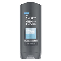 Sprchový gel Men+Care Clean Comfort (Body And Face Wash)