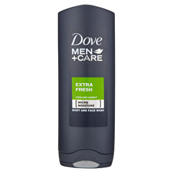 Sprchový gel Men+Care Extra Fresh (Body And Face Wash)