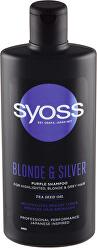 Šampon pro blond a šedivé vlasy Blond & Silver (Purple Shampoo)