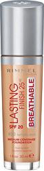 Dlouhotrvající tekutý make-up Lasting Finish Breathable SPF 20 (Foundation) 30 ml