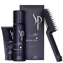 Tónovací pěna na vlasy pro muže 60 ml + šampon na vlasy 30 ml SP Men (Gradual Tone)
