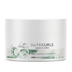 Uhlazující maska pro vlnité a kudrnaté vlasy Nutricurls (Waves & Curls Mask)