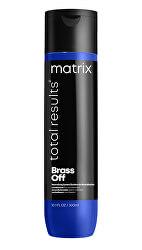 Výživný kondicionér pro studené odstíny vlasů Total Results Brass Off (Conditioner)