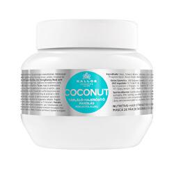 Vyživující maska pro oslabené vlasy Coconut Mask KJMN (Hair Mask)